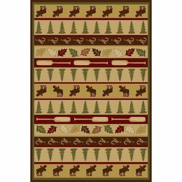 Picture of Woodland Lodge 8x10 Rug