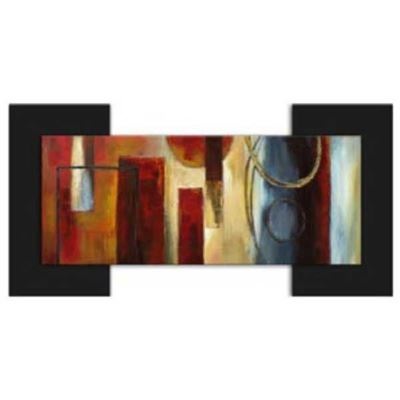 Picture of Abstract On Blk Mount 30x60x2