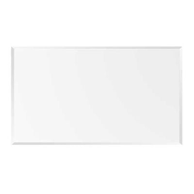 """Picture of 42X72 8mm 1"""" Beveled glass table top"""