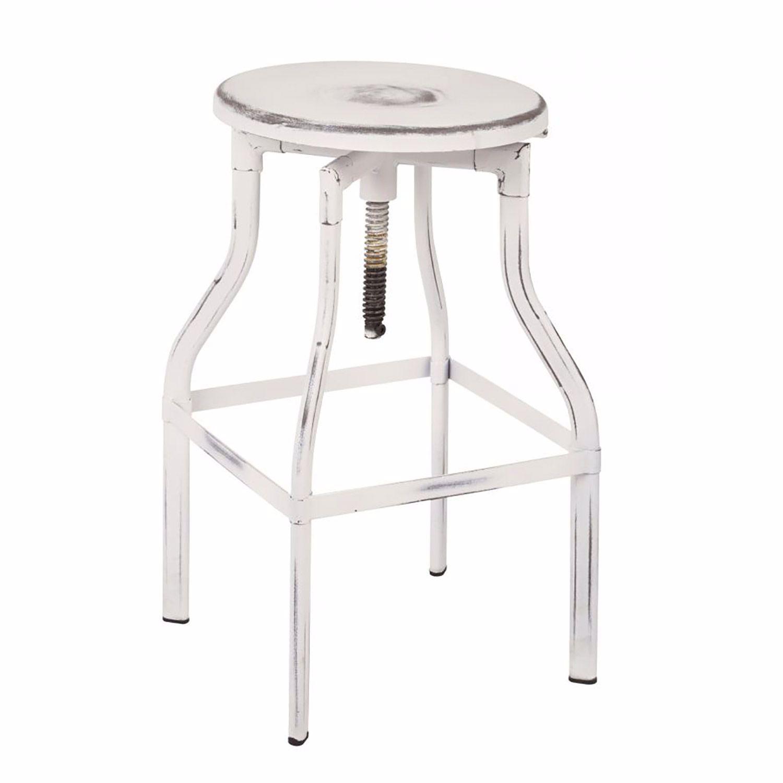 Fantastic Eastvale 30 Inch Mtl Barstool Antique White Finish D Pdpeps Interior Chair Design Pdpepsorg