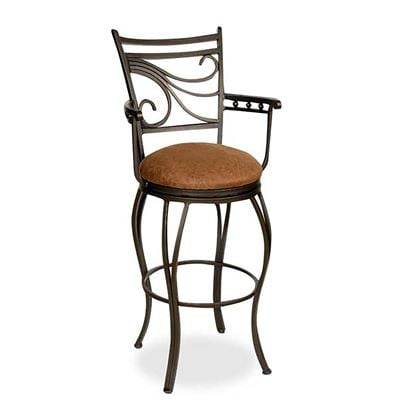"Picture of Glow 30"" Arm Barstool"