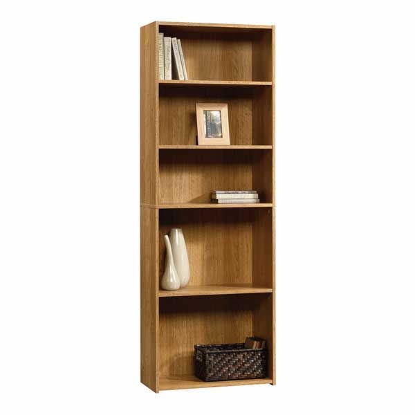 Picture of Beginnings 5-Shelf Bookcase Highland Oak * D