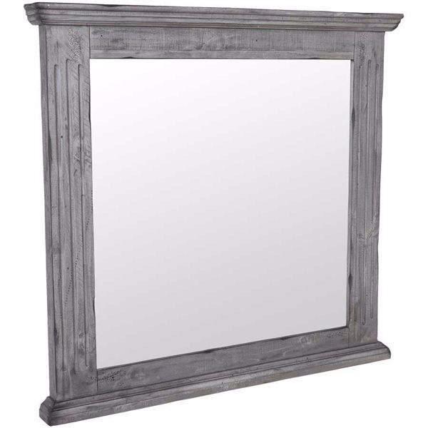 Picture of Grey Isabella Mirror