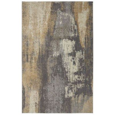 Picture of Berkshire Truro Grey Yellow 5x8 Rug
