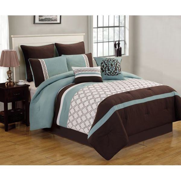 Picture of Teagan 8pc King Comforter Set
