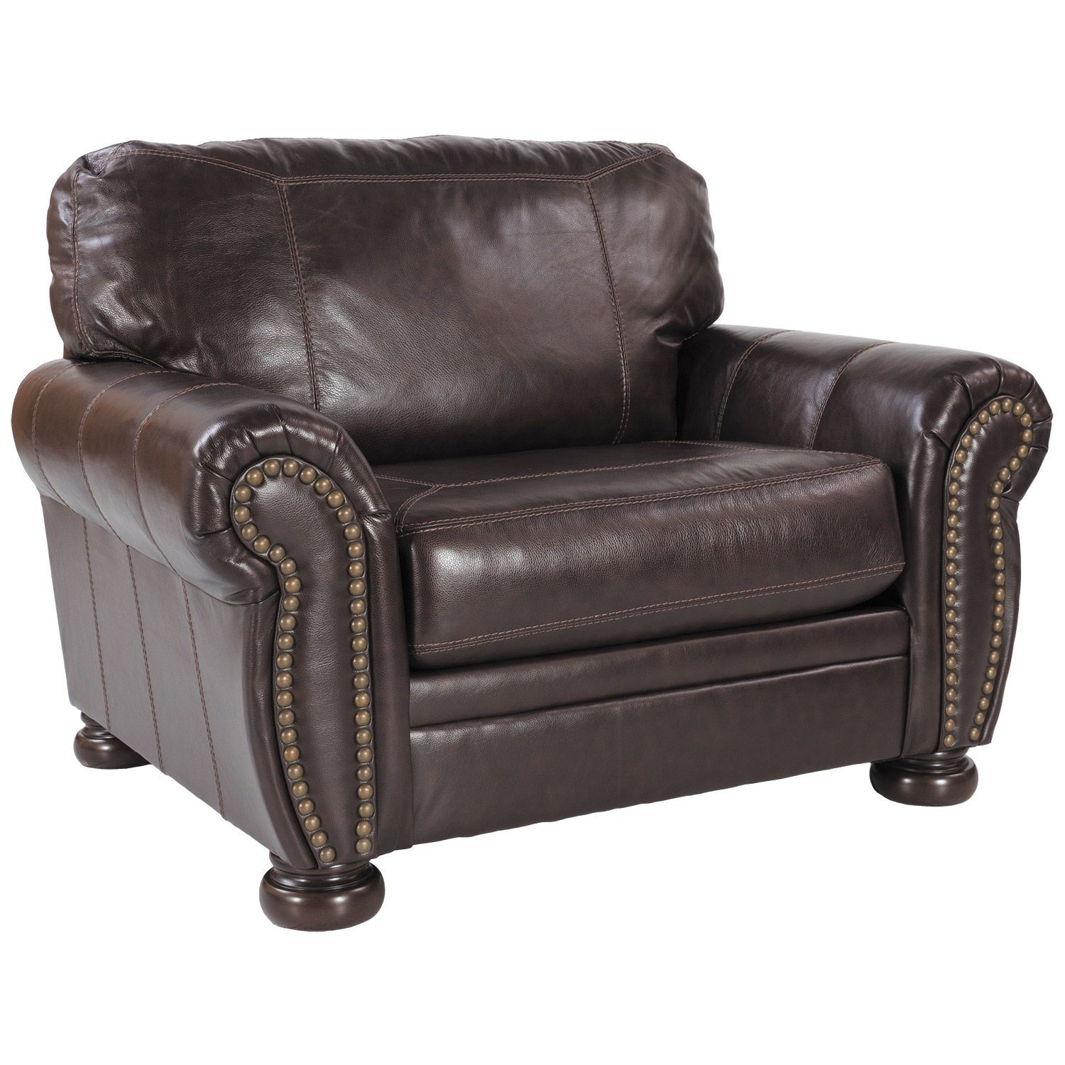 Banner Leather Chair 5040423 Ashley Furniture Afw Com
