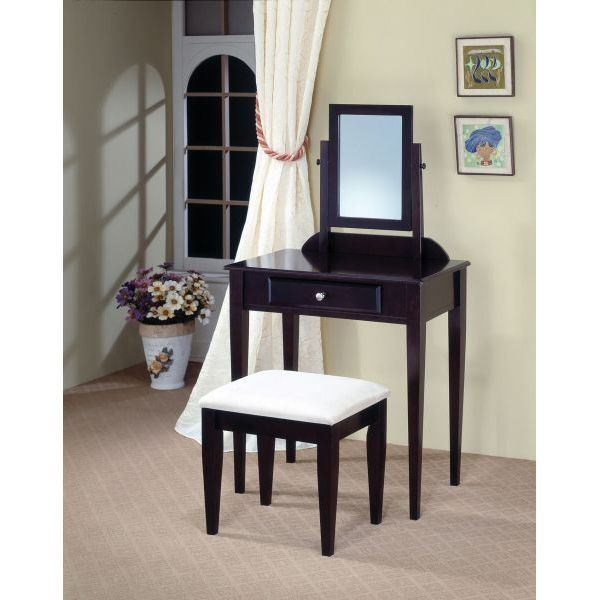 Picture of Two Piece Vanity Set, Cappuccino *D
