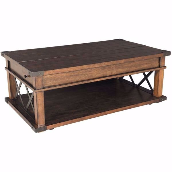 Picture of Landmark Lift Top Cocktail Table