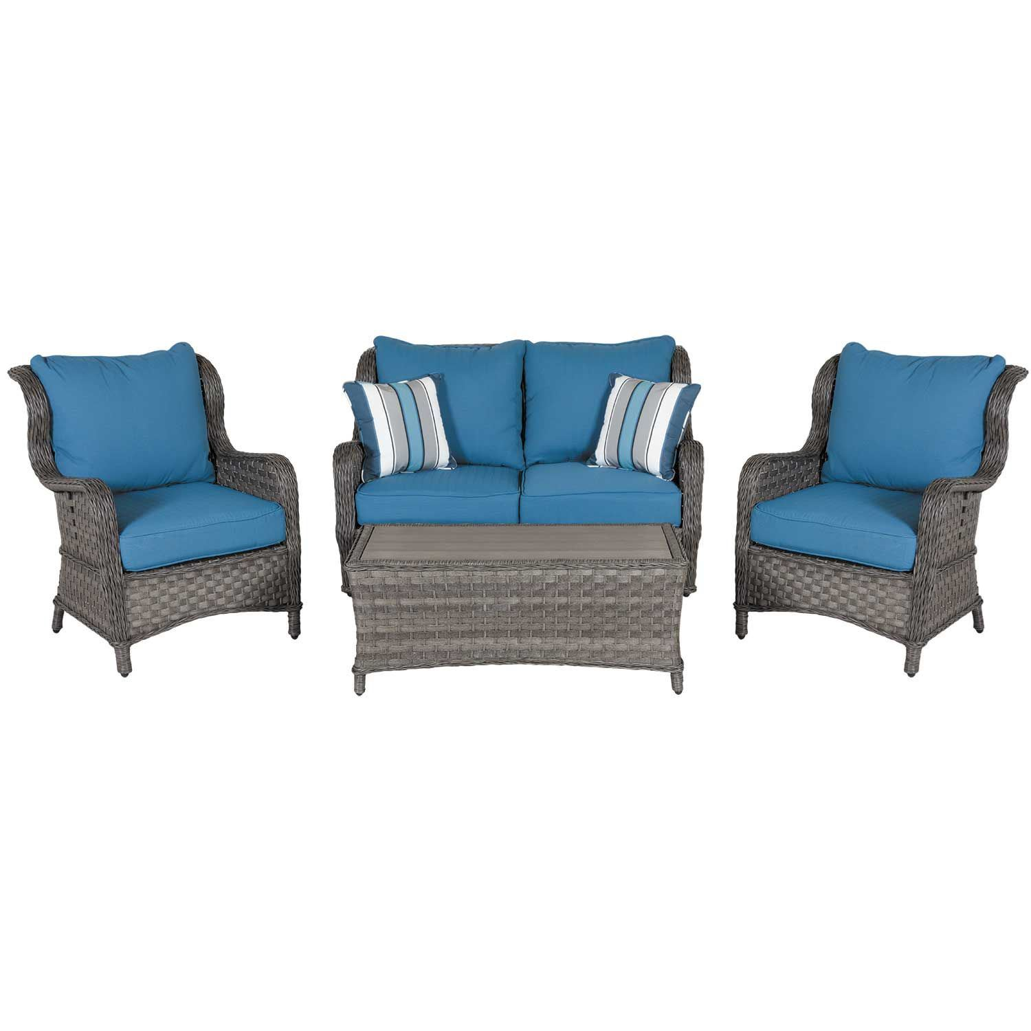 Abbot S Court 4 Piece Patio Set P360 4pc Ashley Furniture Afw