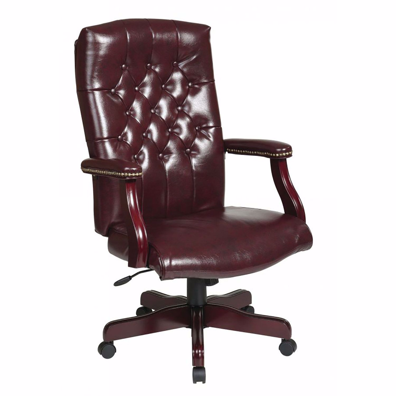Brown Traditional Office Chair TEX433-JT43  Office Star  AFW.com