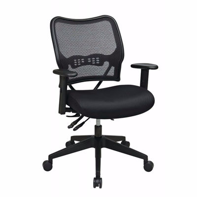 Picture of Black AirGrid Office Chair 13-37N9WA *D