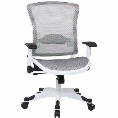 Picture of White Office Chair *D