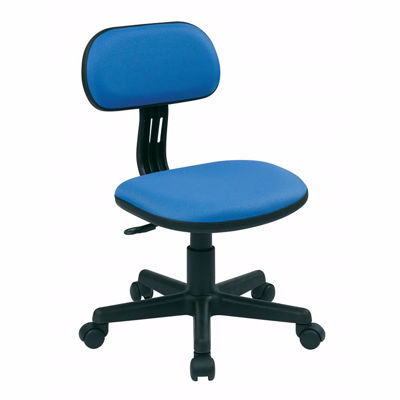Picture of Blue Fabric Office Chair *D