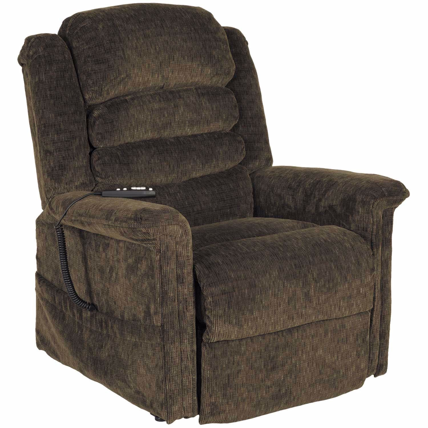 Soother Green Power Reclining Lift Chair With Heat And