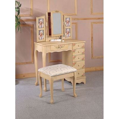 Picture of Two Piece Vanity Set, Ivory *D