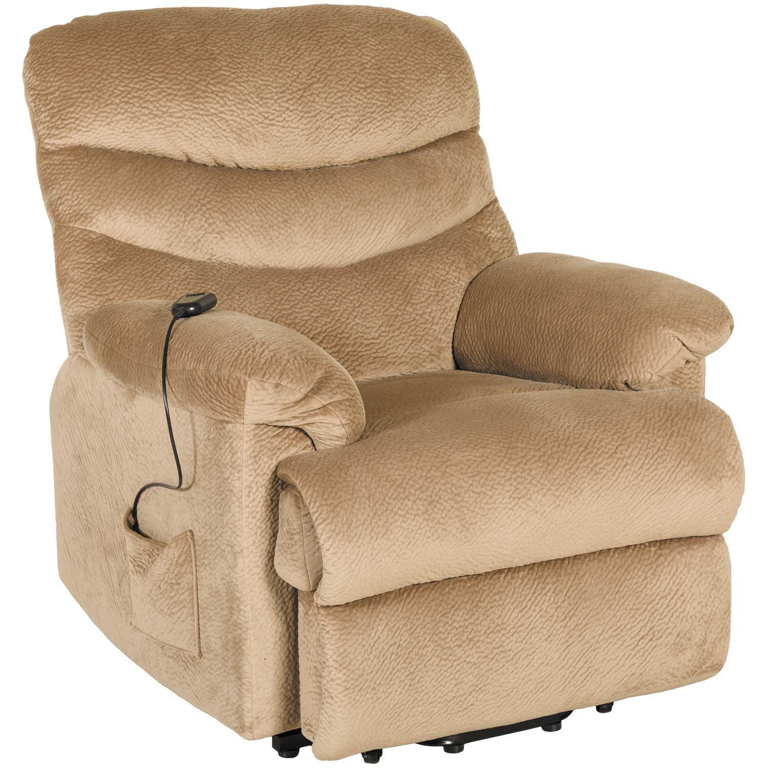 Surprising Brooke Beige Microfiber Lift Chair Pdpeps Interior Chair Design Pdpepsorg