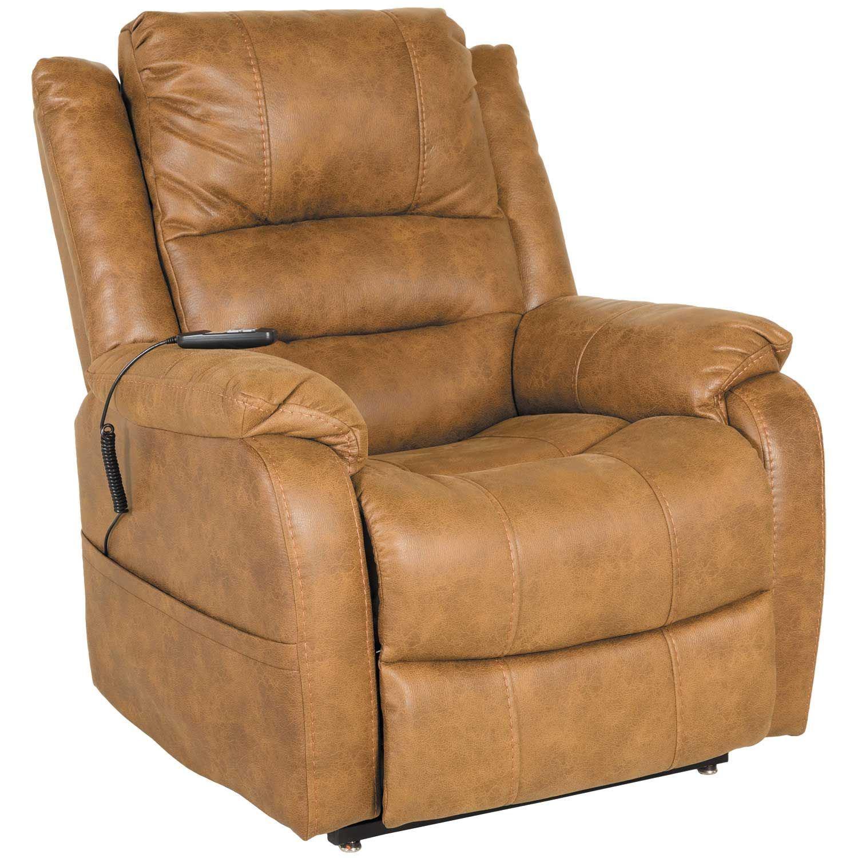 Yandel Saddle Two-Motor Power Lift Chair   1090012 ...