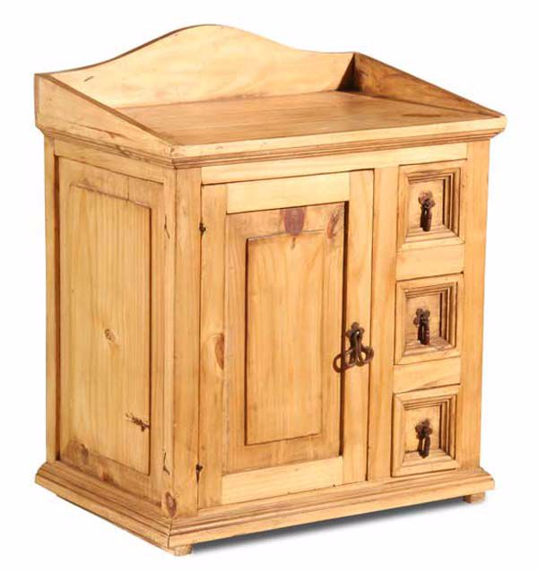 Picture Of Rustico Storage Nightstand Left