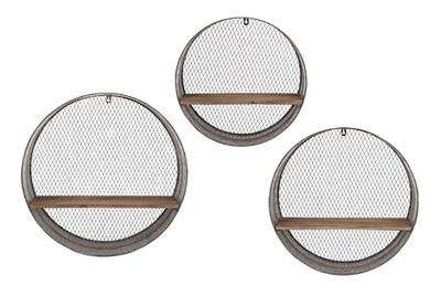 Picture of Set 3 Round Wall Shelves