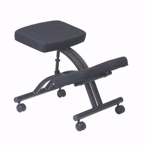 Picture of Black Ergonomic Knee Chair KCM1420 *D