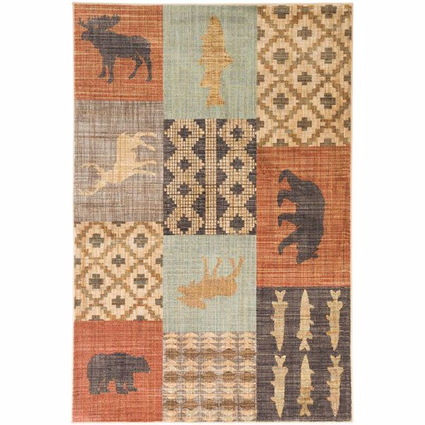 Picture of Nome Multi 5x8 Rug
