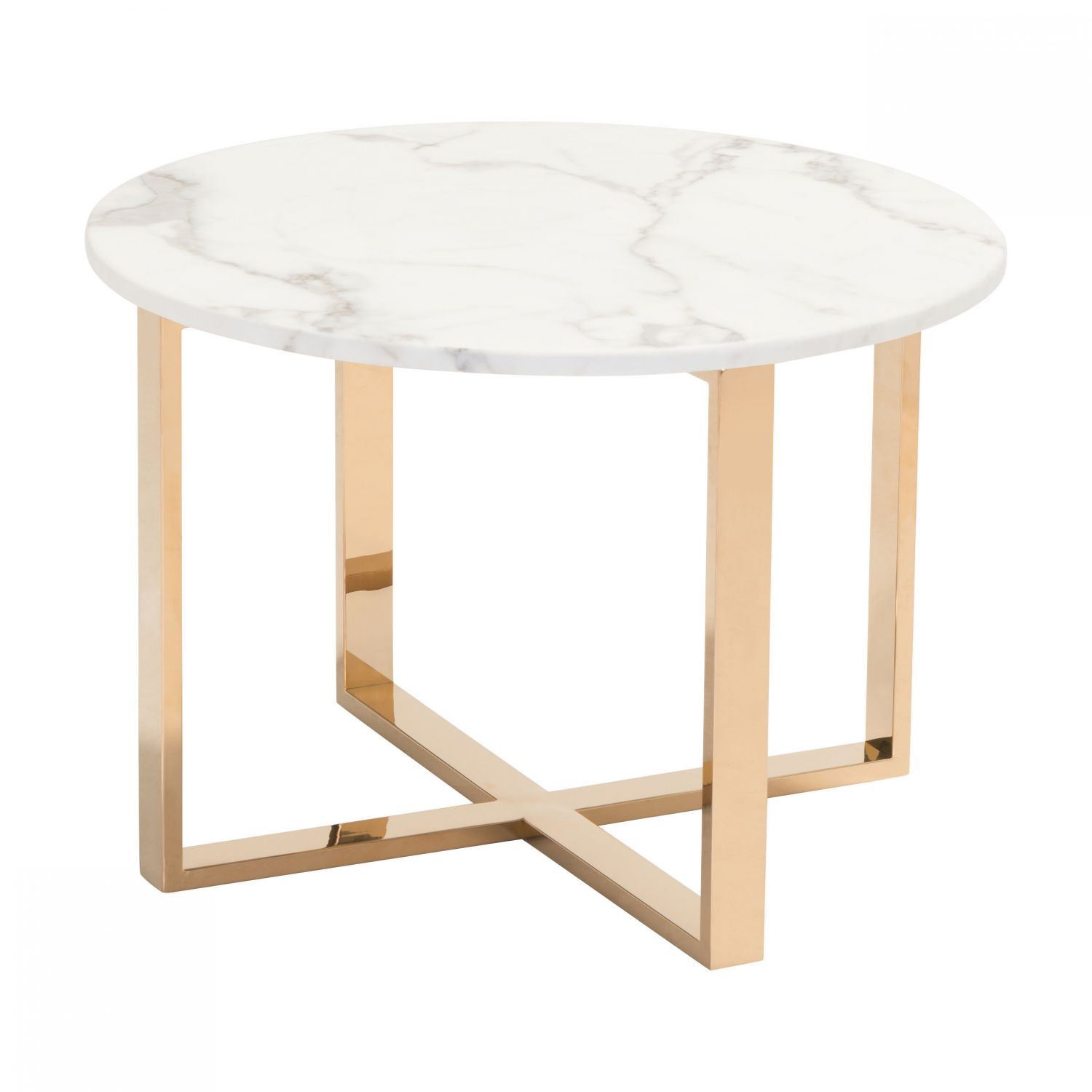 Picture of Globe End Table Stone & Gold *D