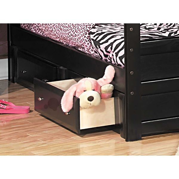 Picture of Laguna 2 Drwr Underdresser Black Cherry