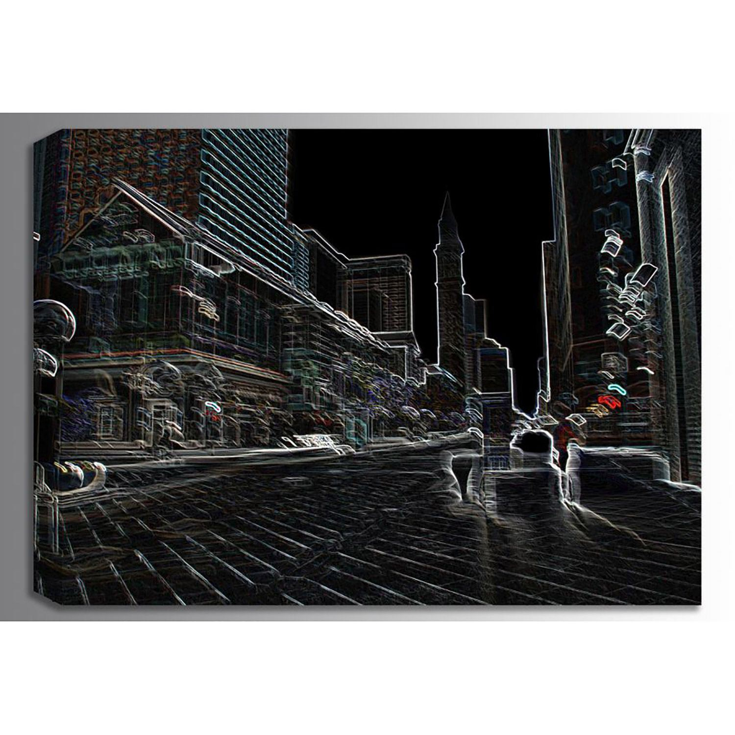 Picture of Denver Neon Collection 01145 36x24 *D