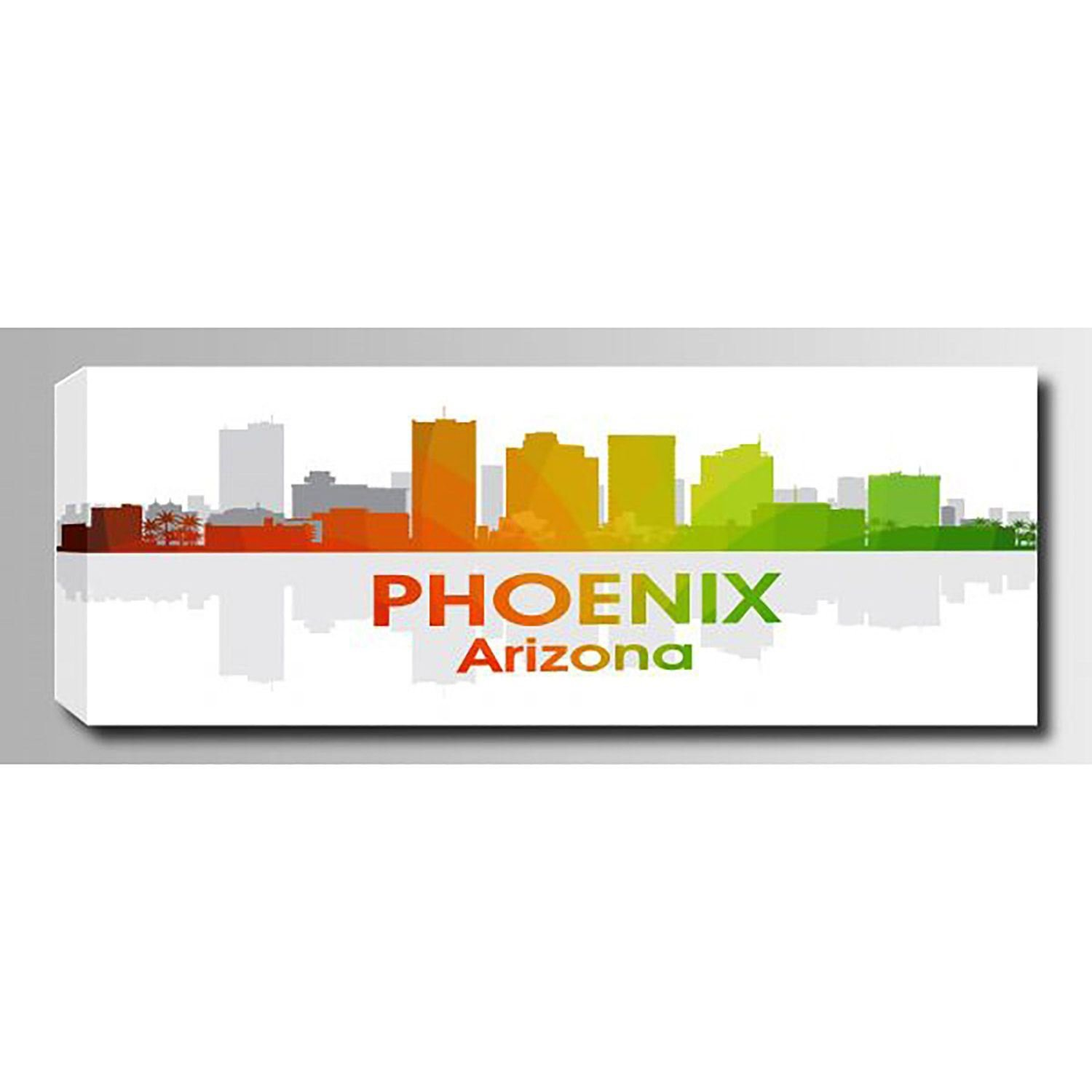 Picture of Phoenix AZ Rainbow Spectrum 60x20 *D