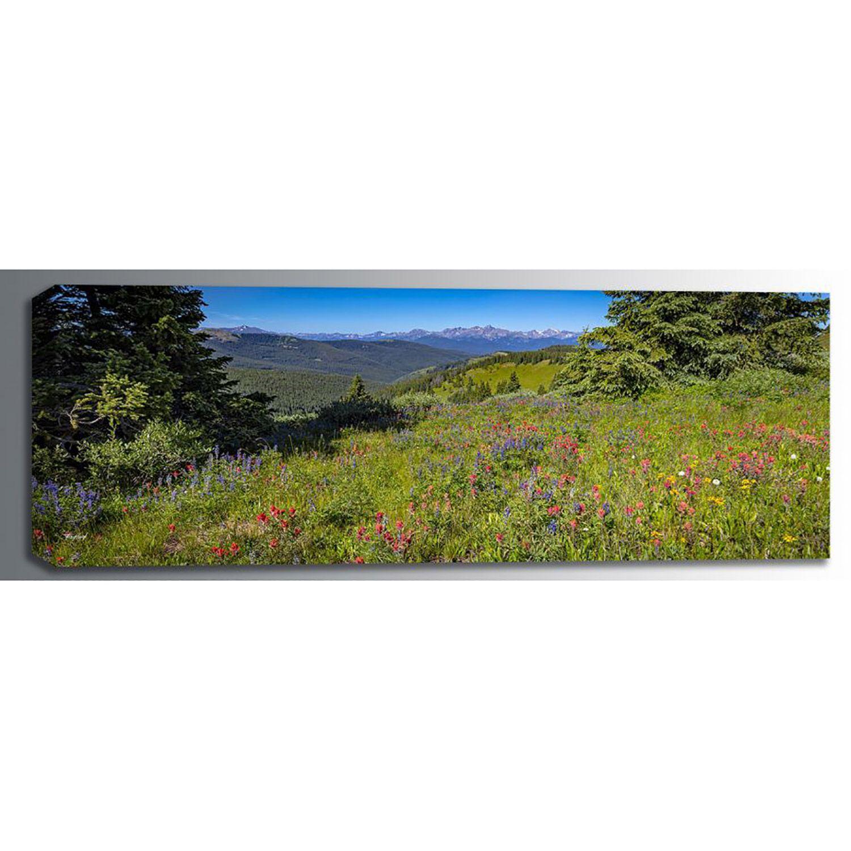 Picture of Shrine Ridge Summer Flowers 60x20 *D