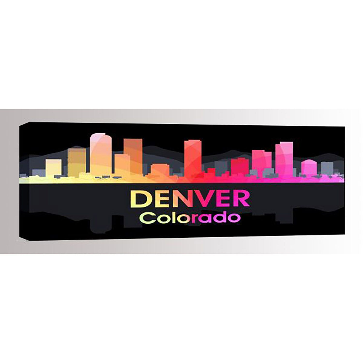 Picture of Denver CO Night Lights 60x20 *D