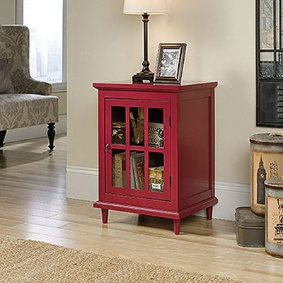 Picture of Barrister Lane Side Table RedBerry Red * D