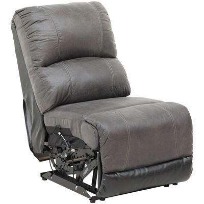 Picture of 2Tone Slate Armless Recliner