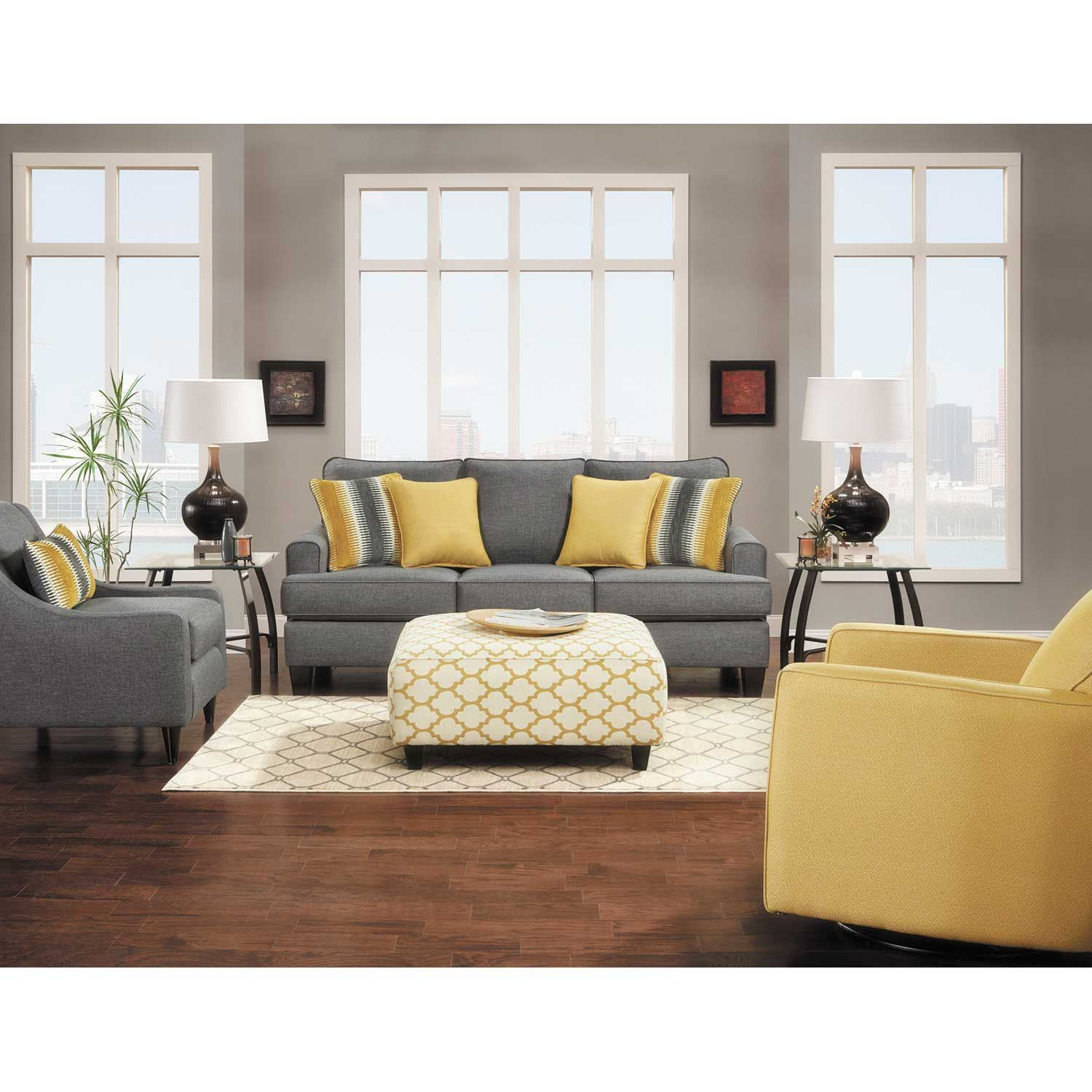 Picture of Maxwell Gray Queen Sleeper Sofa