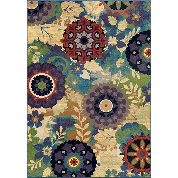 Picture of Florence Timken Aqua 5x7 Rug