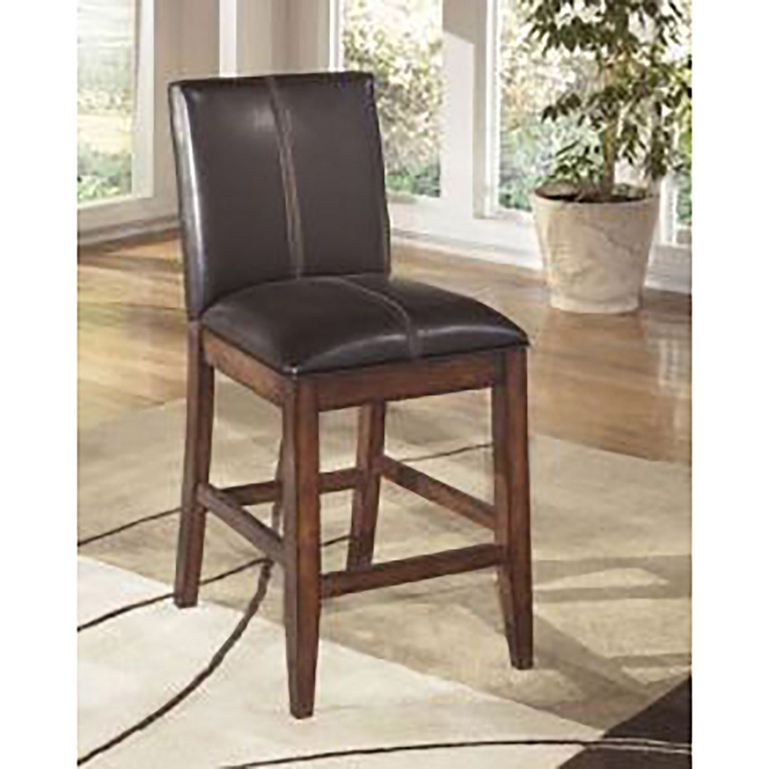 Larchmont Upholstered Barstool D D442 224 Ashley Furniture
