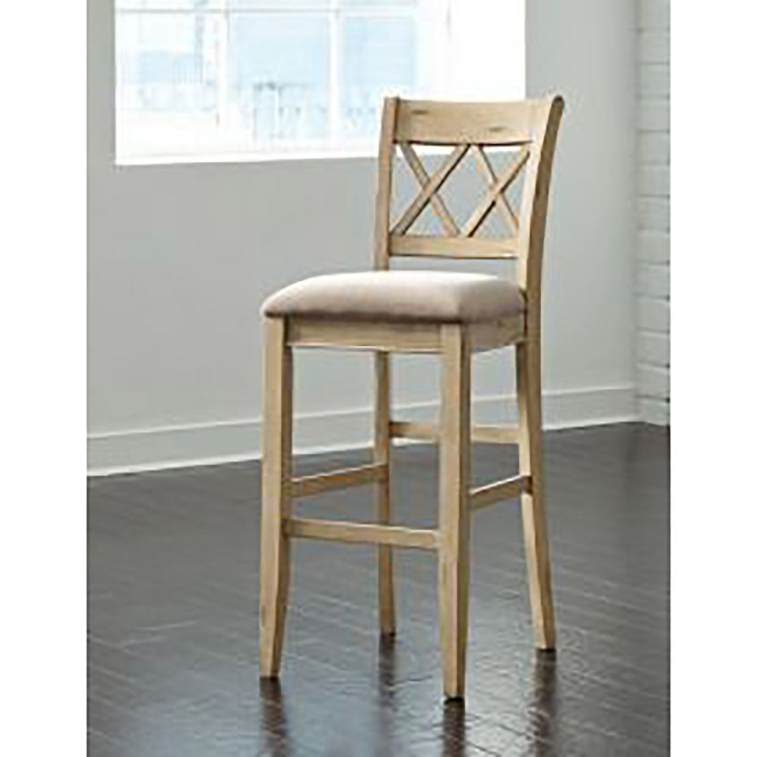 Picture Of Mestler Tall Uph Barstool Set Two D