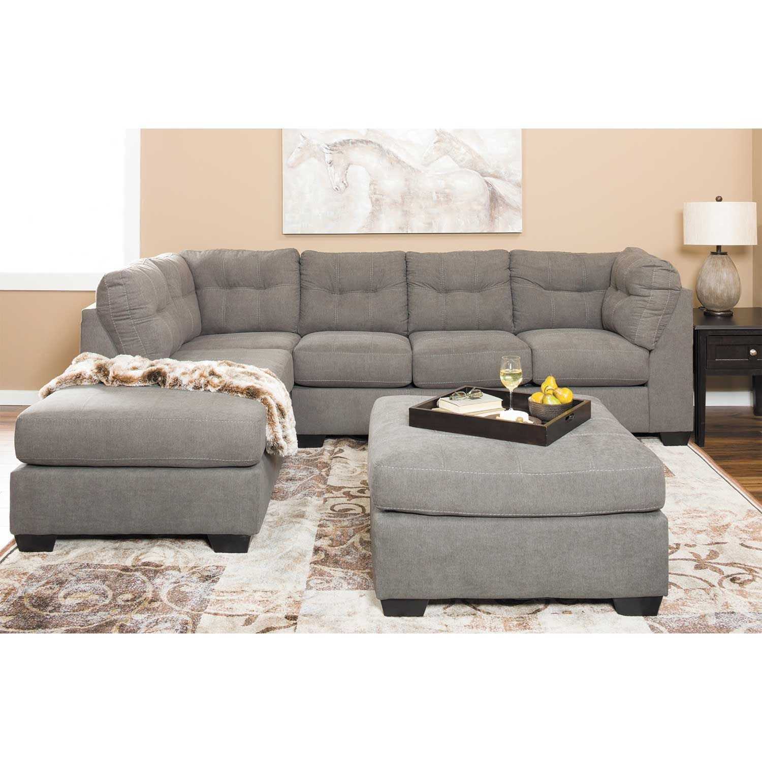 Picture of Maier Charcoal 2 Piece Sectional with LAF Chaise