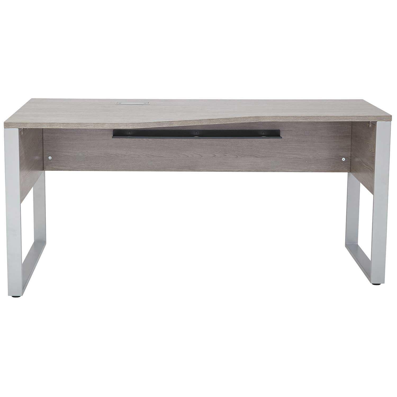 Picture of Manhattan Crescent Shape Desk, Grey