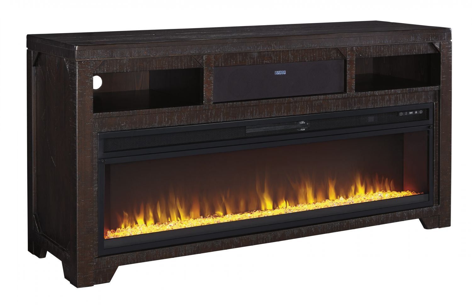 Rogness Tv Stand With Fireplace W745 58 W100 22 Ashley