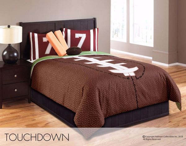 Picture of Touchdown 6 Piece Full Comforter