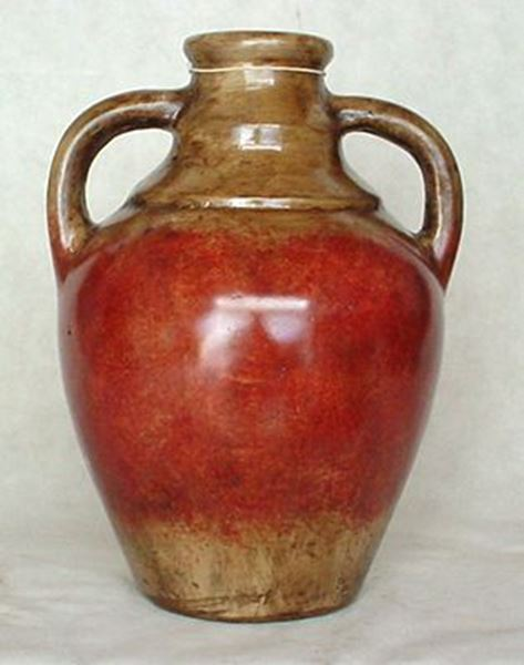 Picture of Red Brown Jug With Handles