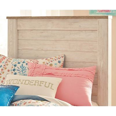 Picture of Willowton Twin Panel Headboard