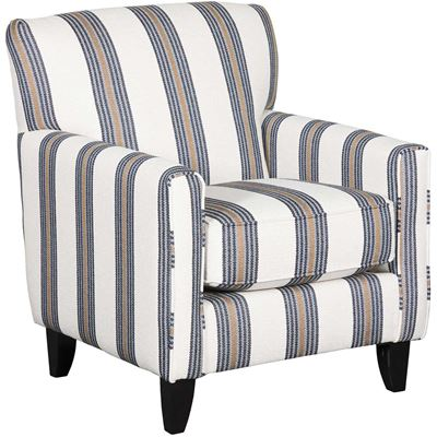 Picture of Whitaker Striped Accent Chair