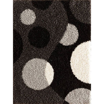 Picture of Crazy Shag Razo Charcoal 5x7 Rug