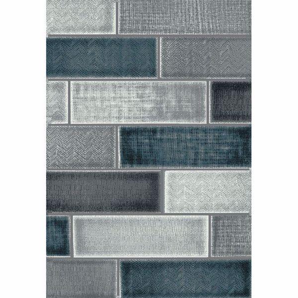 Picture of Rainier Beldon Grey Multi 5x7 Rug