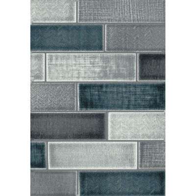 Picture of Rainier Beldon Grey Multi 8x10 Rug