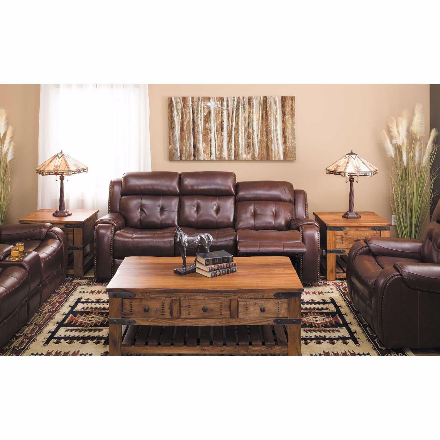Picture of Owen Leather Power Recliner with Adjustable Headrest