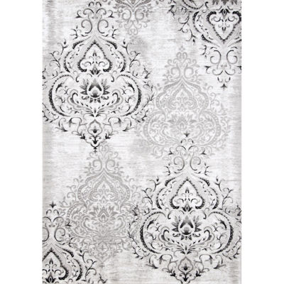Picture of Platinum Grey Medallion 8x10 Rug