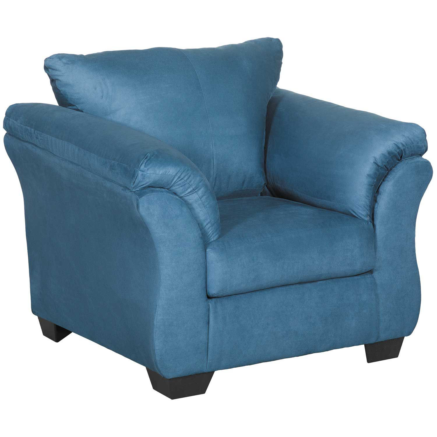 Picture Of Darcy Dark Blue Chair